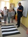 Wizyta Policjanta w naszej szkole.