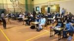 Uczniowie z Gostomi pisali sprawdzian szóstoklasisty z Rodzicami!